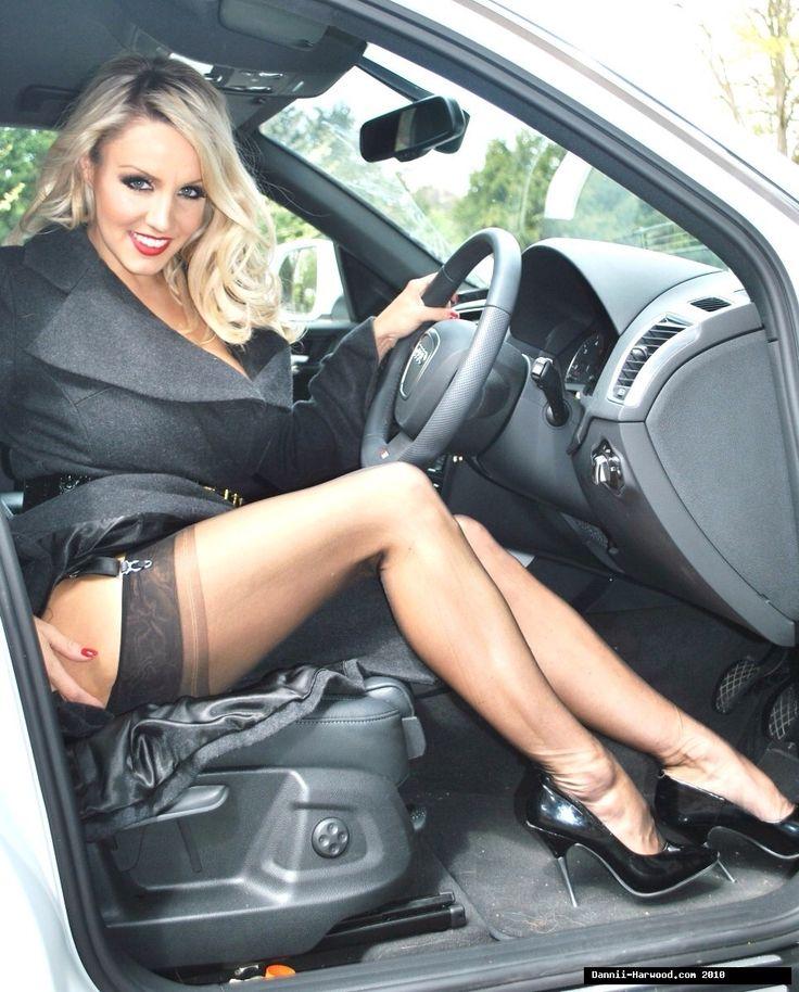 Pantyhose women cars