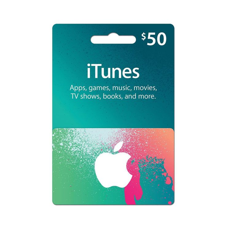 iTunes Gift Card                                                                                                                                                                                 More