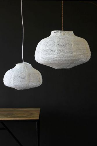 White Lace Lampshade - 2 Sizes Available