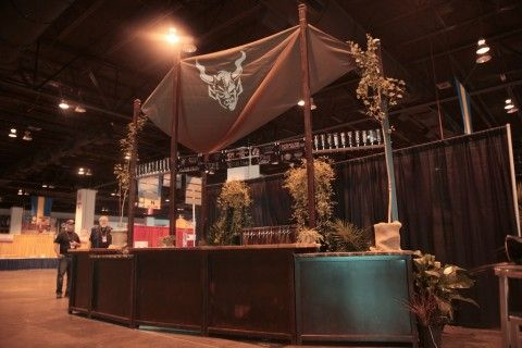 Stone booth at the 2012 Great American Beer Festival