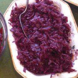 Spiced red cabbage for Christmas