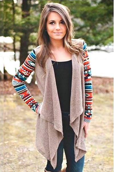 Cardigan Outfit: One of our customer favorites! The Fall Favorite Mocha Cardigan is a perfect seasonal transition piece. Made of a light weight fabric making it perfect for layering. TheChicFind.com