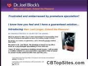 Dr Joel Block - Men: Last Longer, Extend the Pleasure E-Book