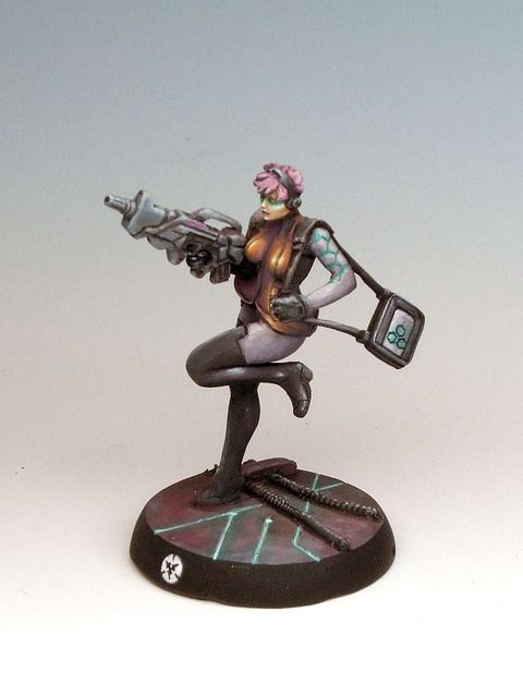 Infinity Posthuman Miniature | Flickr - Photo Sharing! by Jon Geraghty