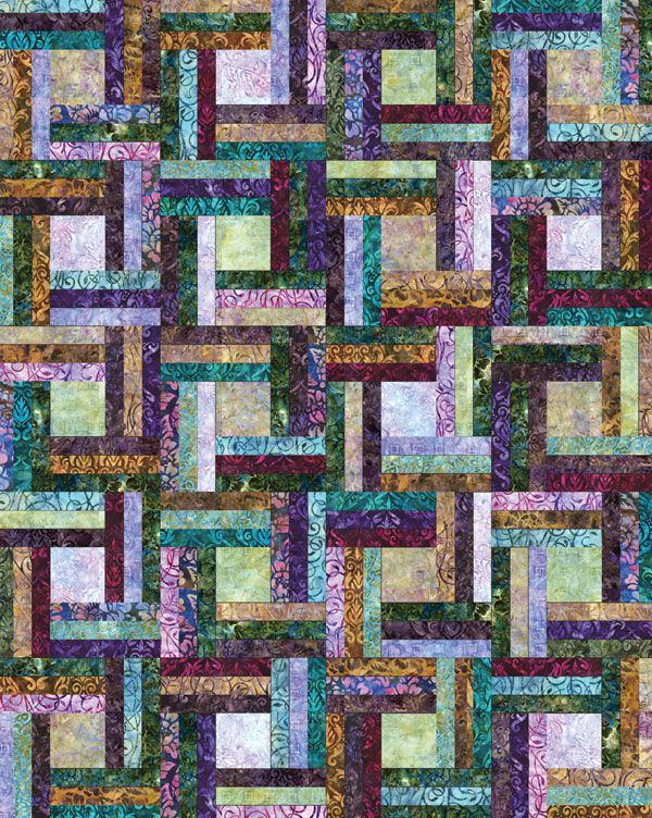 """Off the Rail"" by Jaybird Quilts--another one that is screaming my name!"