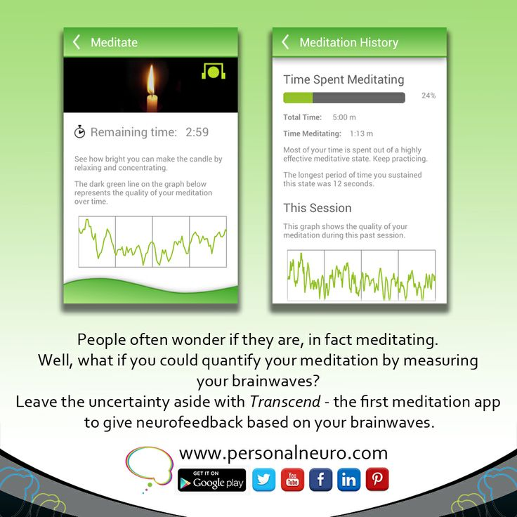 Measure your brainwaves at home and get to know what's really going on in your head. www.personalneuro.com Transcend app is available for Android and iOS #neuroscience #meditation #app