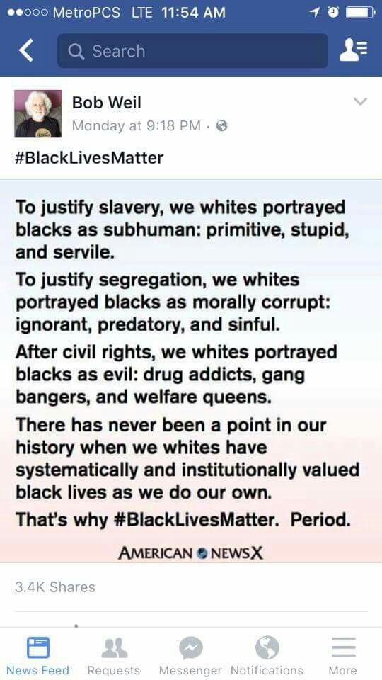 """African Americans (African AMERICANS) were dragged off their own lands, enslaved and then """"freed"""" into the same nation that enslaved them.. and we expect them not to have poverty and then as a direct result of that, crime?! If African Americans have a higher rate of criminal activity, it's because they were given the worst of starts, both here as a race in North America (the US especially) and now, in the modern world."""