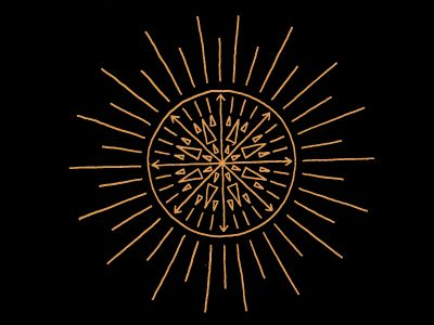 Sun Compass by Keith Davis Young