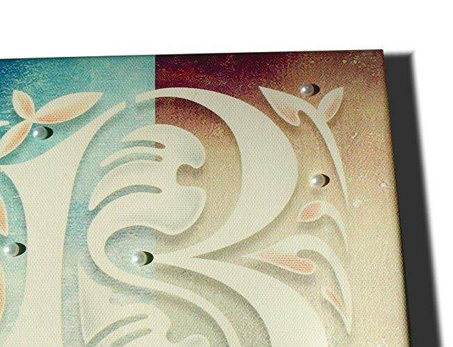 Tela con lettera B, 20x20: Amazon.it: Handmade