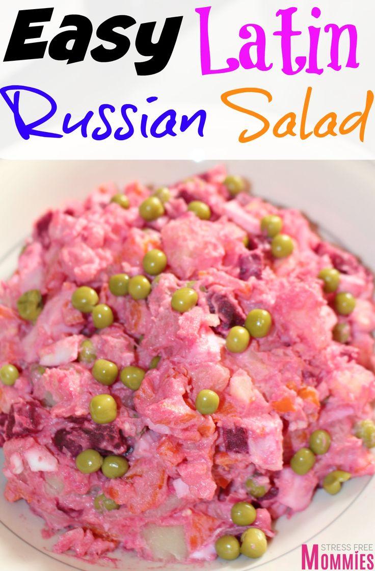 Easy to make russian salad recipe