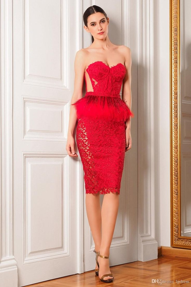 free shipping, $117.93/piece:buy wholesale  sexy red cocktail dresses lace with feathers short summer party dresses lace with feathers top quality sheath party dresses top quality 2016 fall winter,reference images,lace on lpdress's Store from DHgate.com, get worldwide delivery and buyer protection service.