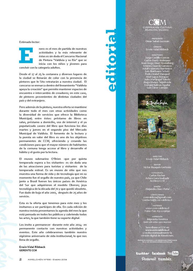 Revista Kimelchén Enero 2014