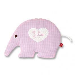 Ameisenbär + Elefant = ? ... Richtig ein kleines ganz besonderes Baby- und Kinder Wärmekissen :-) #Baby #Wärmekissen #Kissen