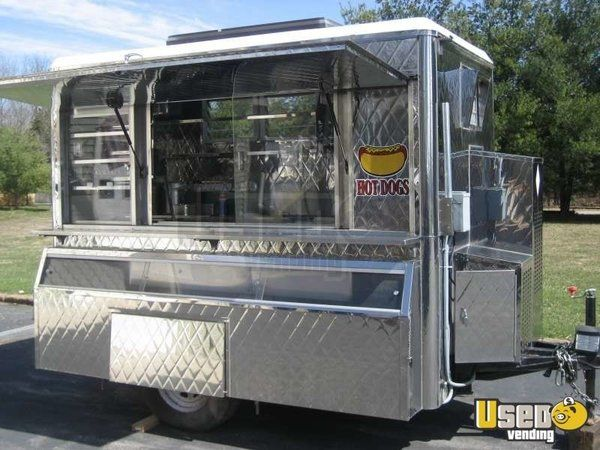 2006 - Custom Mobile Food Equipment Concession Trailer for Sale!!!