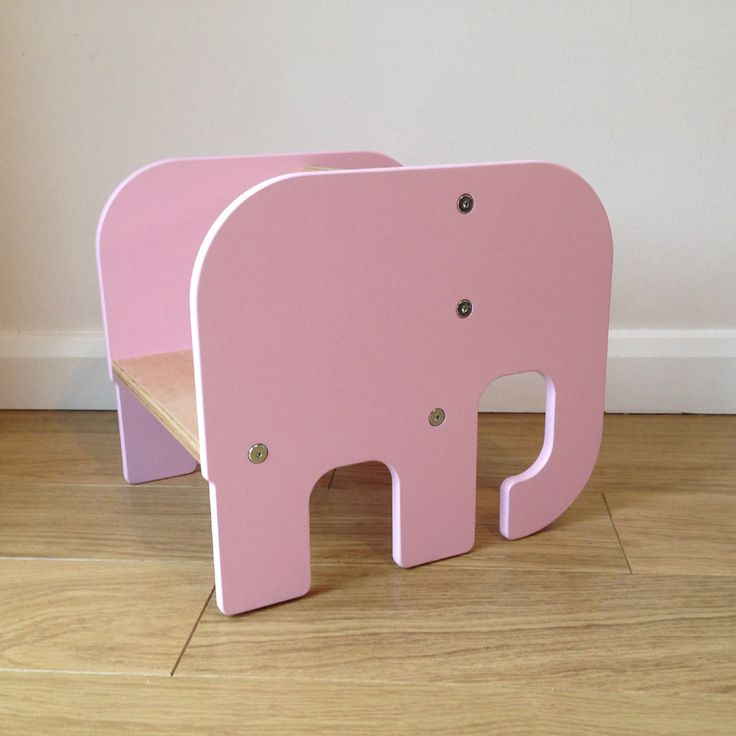 Elephant Childrenu0027s Chair Handmade In The UK U2013 Piggl