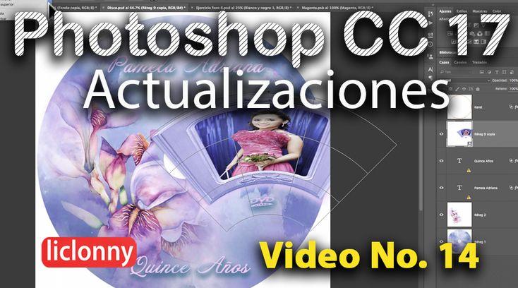 #Tutorial #Photoshop CC 17 # 14. Imágenes Warping. Deformación de Imágenes. liclonny  Las actualizaciones las puedes seguir desde su inicio y a la medida de tus tiempos libres en : www.youtube.com/liclonny