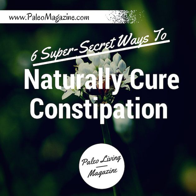 How to naturally cure constipation using the paleo diet http://paleomagazine.com/how-to-naturally-cure-constipation #paleo #primal #diet