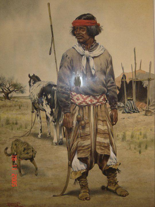 Rodolfo Ramos. gran pintor Argentino. gauchos