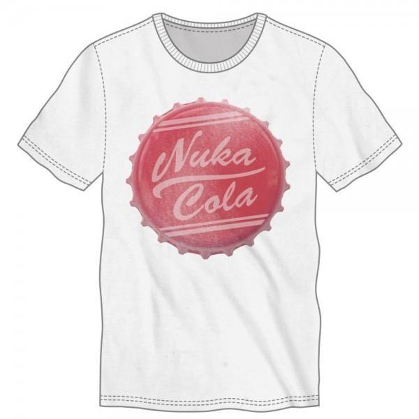 Fallout Nuka Cola Bottle Cap T-Shirt