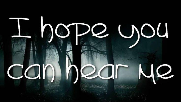 Slipped Away - Avril Lavigne Lyrics[HD] reminds me of new moon when edward left