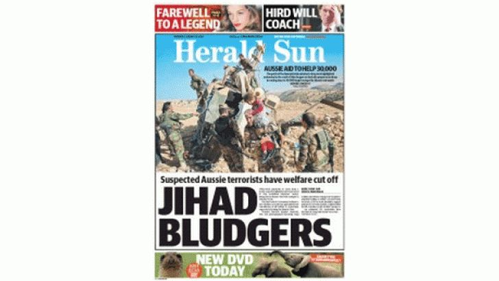 """Is that the truth, or was your News Ltd? 