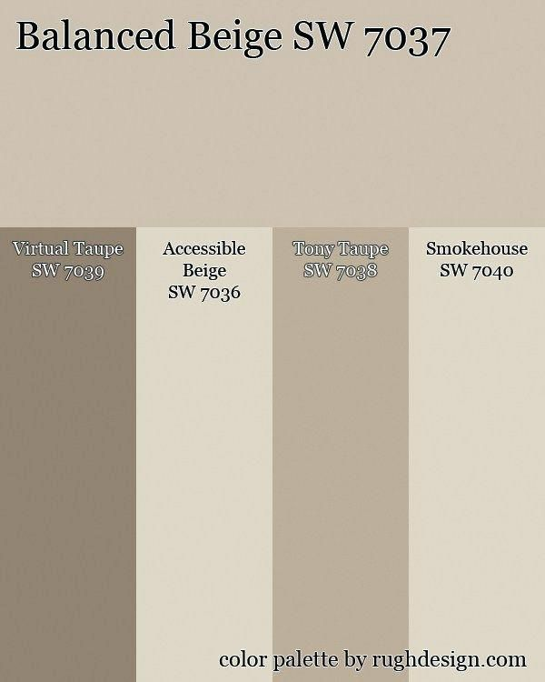 What Is The Difference Between Interior And Exterior Paint: Tony Taupe Coordinating Colors Balanced Beige