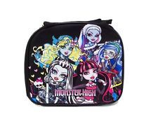 NEW Licensed Mattel Monster High Black Lunch Bag Box with FREE Water Bottle
