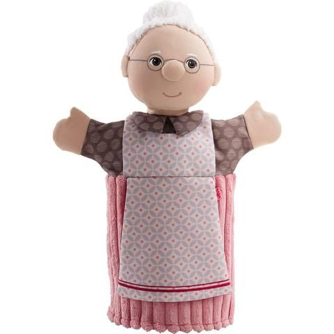 Raise the curtains and put on a show with the HABA Grandpa Glove puppet. Now your little one can add...