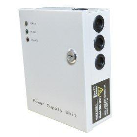 Бесперебойный блок питания Full Energy BBG-1210/8 10А BBG-1210/8 Бесперебойный блок питания импульсный, 8 канальный. выход: 12В/10А, клеммник; вход: ~220, клеммник; металлический корпус с крышкой и замком; стабилизация напряжения, защита от глубокого разряда. Возможна установка аккумулятора 1,2Ah, 2.2Ah, 4Ah, 7Ah, 18Ah (Рекомендуем приобрести Переходник 7-12). Размеры: 203 х 165 х 75 мм.  3 512.29 р. http://магазин.слаботочка-спб.рф/index.php?route=product/product&product_id=706
