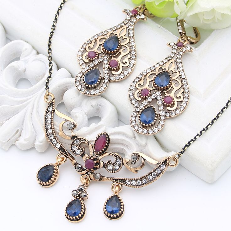 Like and Share if you want this  Vintage Turkish Women Resin Flower Jewelry Sets Hook Drop Earring Vines Necklace Antique Gold Color Arabia Bridal Retro Jewelry     Tag a friend who would love this!     FREE Shipping Worldwide     Buy one here---> http://jewelry-steals.com/products/vintage-turkish-women-resin-flower-jewelry-sets-hook-drop-earring-vines-necklace-antique-gold-color-arabia-bridal-retro-jewelry/    #cheap_earrings