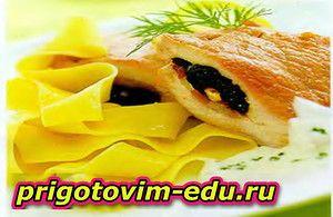 Фаршированные свиные отбивные — Кулинарные рецепты