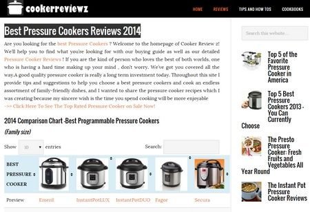 Advantages of reading Pressure Cooker Reviews.   It usually is necessary that you should attempt to read Pressure Cooker Reviews before buying any pressure cooker. This is because there are several brands of pressure cookers available and they'll are apt to have features. Once you look at reviews you can understand features for sale in...  Read the rest of this entry » http://durac.org/advantages-of-reading-pressure-cooker-reviews/