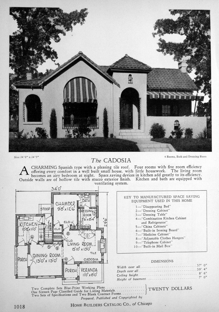 2499 best house plans floor plans images on pinterest for Spanish bungalow house plans