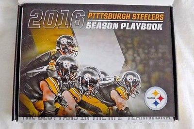 Pittsburgh Steelers 2016 Season Ticket Holders Kit and Ticket Stubs
