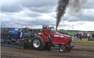Our tractor puller Simply Red, see us at Gt Eccleston show and tractor pulling August Bank Holiday 2014