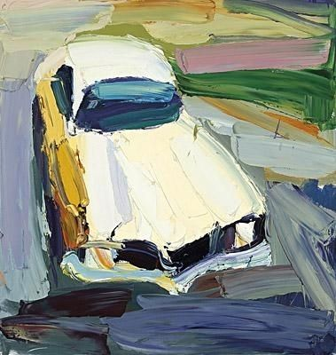 Artwork by Ben Quilty, Frog Torana, Made of oil on canvas