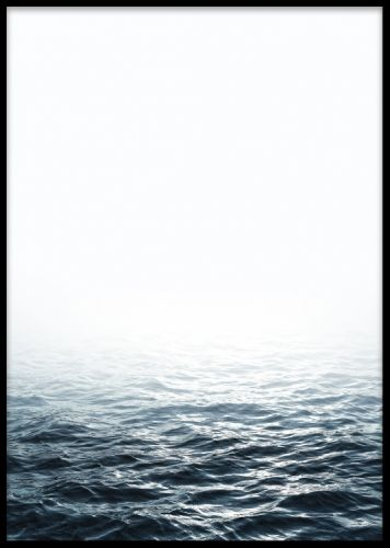 Ocean, poster med fotokunst. Plakater og posters