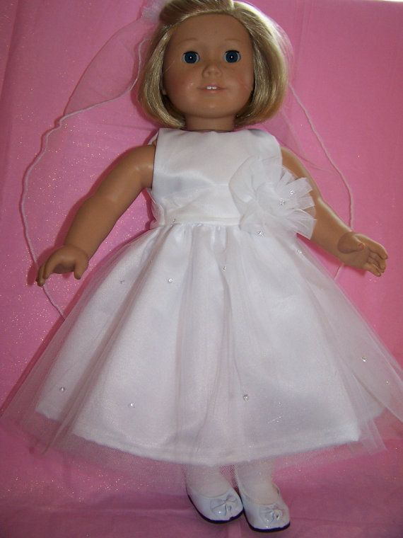 First communion set by ritassewing on Etsy, $28.00 For American Girl