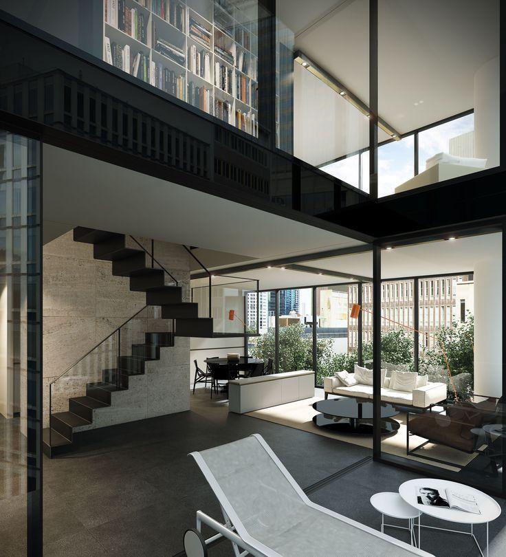 Duplex Townhouse Interior Designed By Carr Design