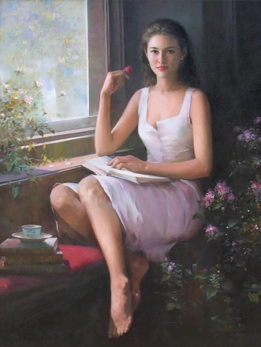 quietmoment - Beautiful Paintings by An He  <3 <3