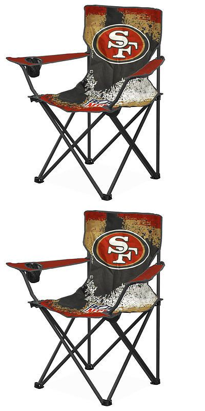 Seats and Chairs 52507: Nfl San Francisco 49Ers Canvas Camp Chair With Metal Legs -> BUY IT NOW ONLY: $31.72 on eBay!
