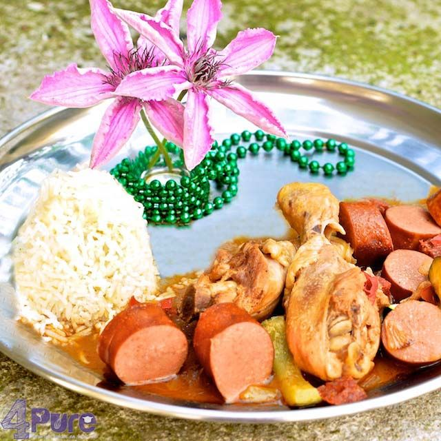 New Orleans gumbo, an traditional American dinner