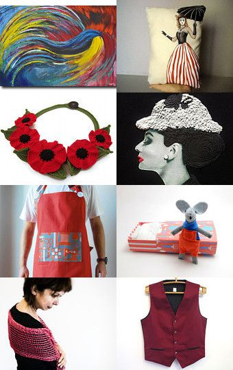 Black and red by Lisa P on Etsy--Pinned with TreasuryPin.com