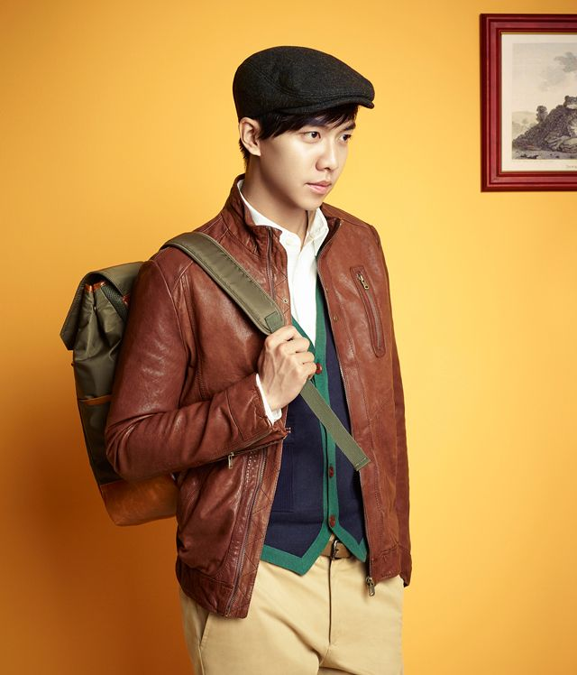 LEE SEUNG GI FOR HERITORY F/W 2013 CAMPAIGN
