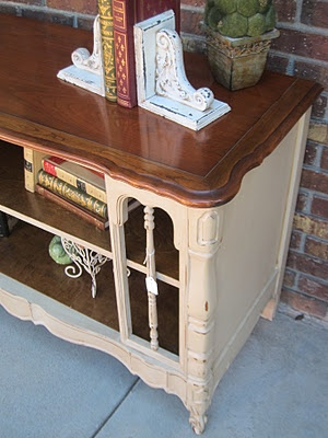 An Old TV Turned Cabinet