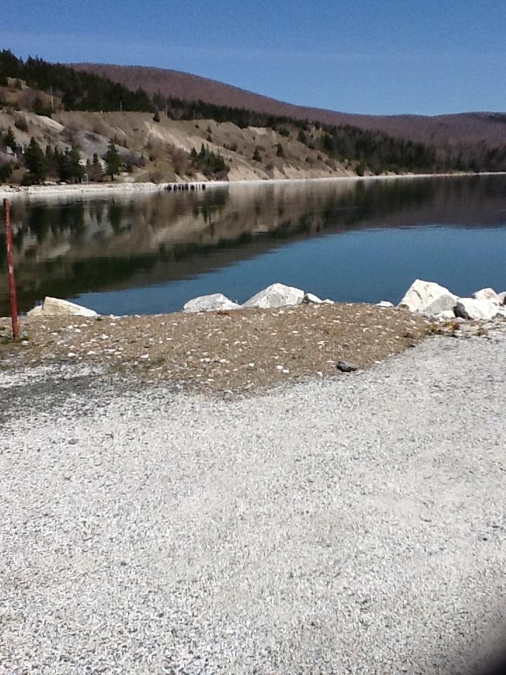 Marble mountain Nova Scotia. May 5th 2013