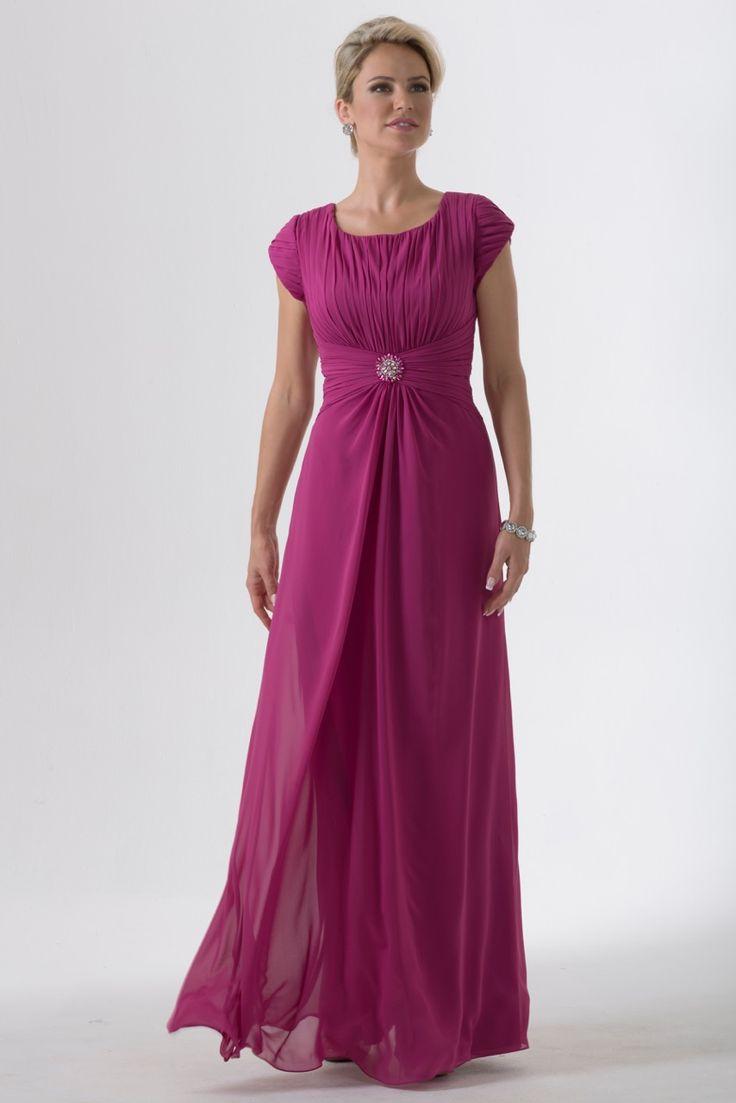 36 mejores imágenes de Modest Bridesmaid Dresses en Pinterest ...