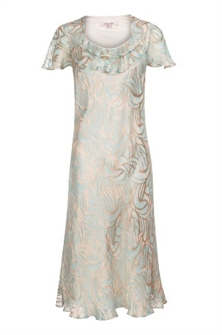 Pressed Floral Devore Dress, our favourite way to look elegant this season.