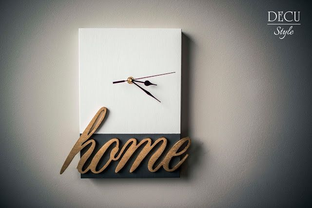 Wood&Crafts - kreatywne malowanie: Zegar Home...