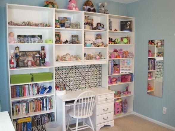 Megans Updated Tween Room, Girl Room Updated To Tween Space., Shelves From  Ikea